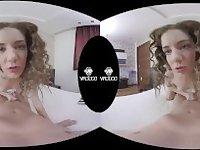 VR3000 - My Slutty Stepsister- Starring Monique Woods - 180° HD VR Porn