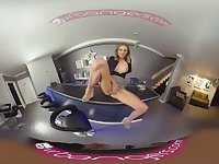 VRBangers Young Bartender Slut Get's Her Pussy Rammed by a Young Stud VR