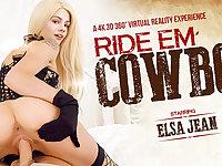 Elsa Jean in Ride 'Em Cowboy - VRBangers