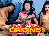 Adriana Chechik in Zombie Slayers: Origins - WankzVR