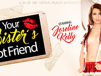 Joseline Kelly in Your Sister's Hot Friend - VRBangers