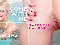 Max born  Sweet cat in Come with me - VirtualRealPorn