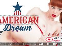 Alexa Nova in American dream - VirtualRealPorn
