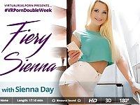 Sienna Day in Fiery Sienna - VirtualRealPorn