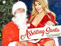 ASSisting Santa - NaughtyAmericaVR